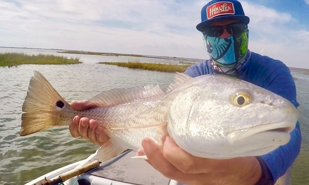 Guided fly fishing trip in rockport texas and surrounding for Fly fishing texas