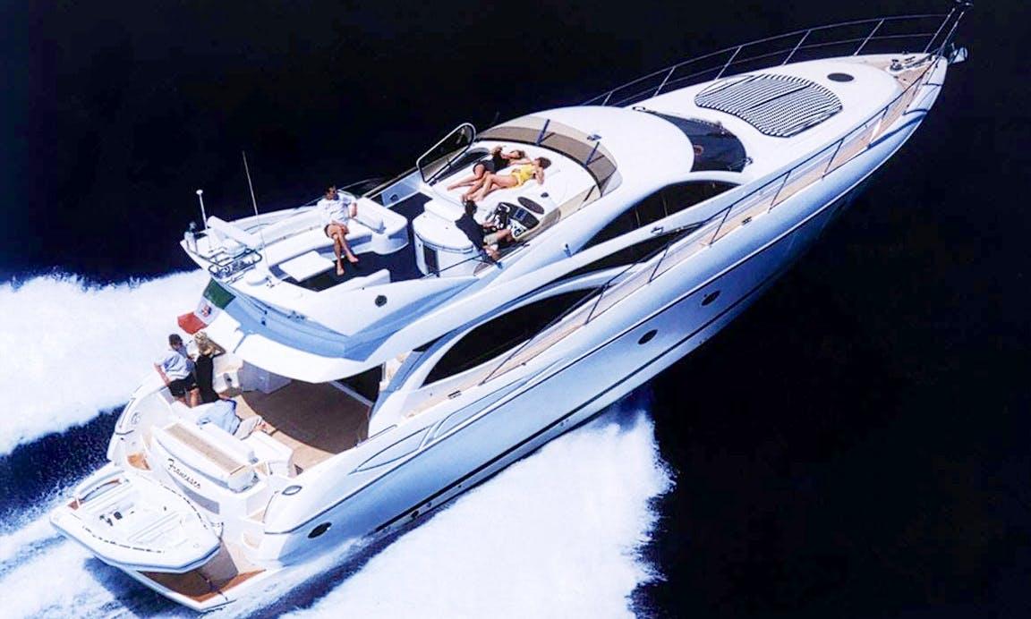 Charter 70' Sunseeker Power Mega Yacht in Trat, Thailand