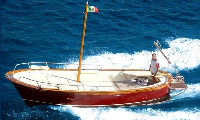 """Rent """"Buongiorno"""" Inboard Propulsion in Campania, Italy"""