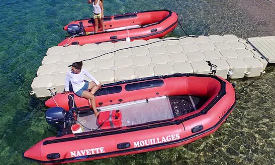 Bareboat A 20' Lumac Dinghy In Calcatoggio, France