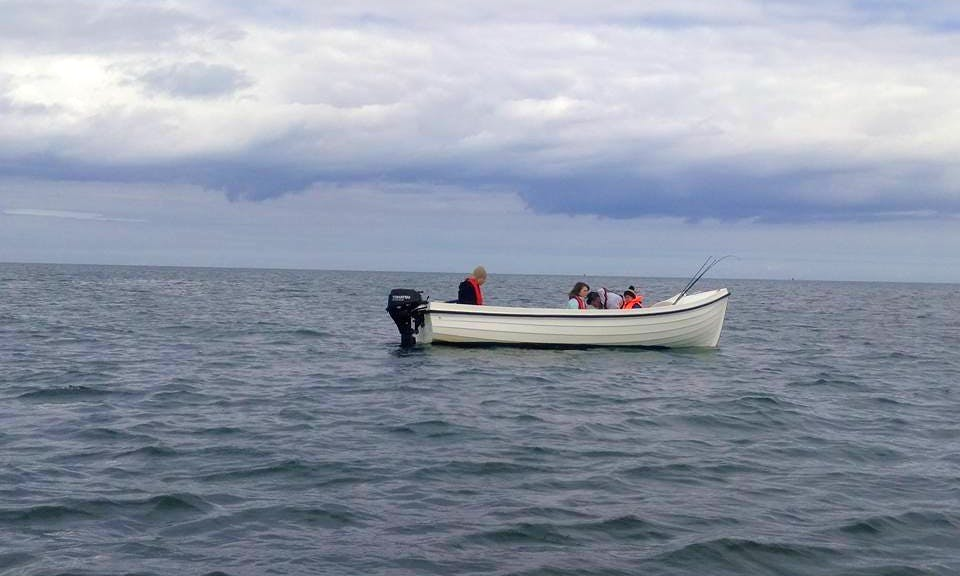 Enjoy Fishing in Rosslare Harbour, Ireland on 16' Dinghy
