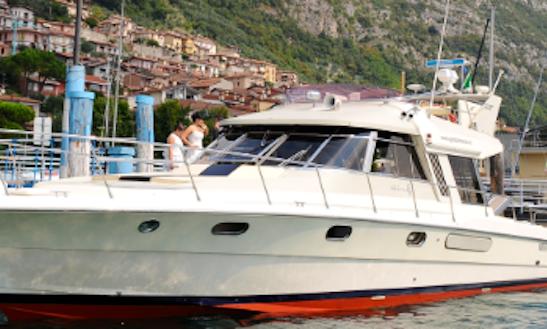 Charter 43' Riva Supermerica Motor Yacht In Predore, Italy