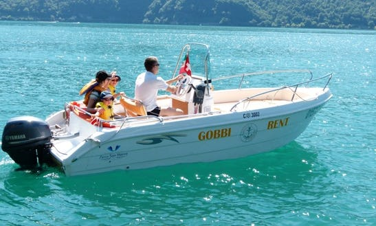 Deck Boat Rental In Cima