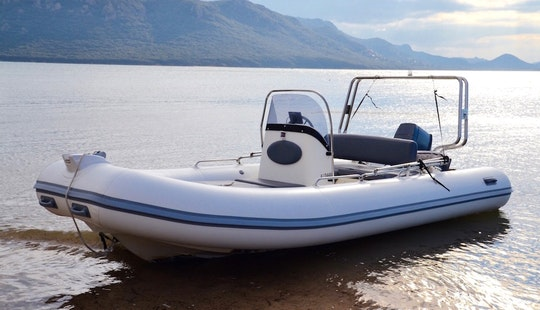 Rent Medline 2c Rigid Inflatable Boat In Porto Vecchio, France