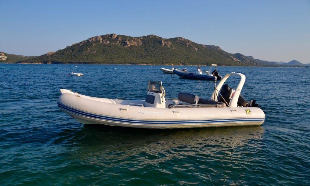 Rent Medline Rigid Inflatable Boat in Porto Vecchio, France