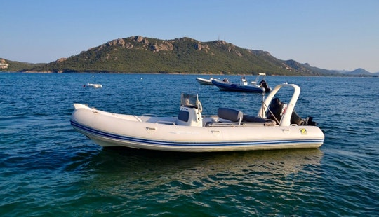 Rent Medline Rigid Inflatable Boat In Porto Vecchio, France