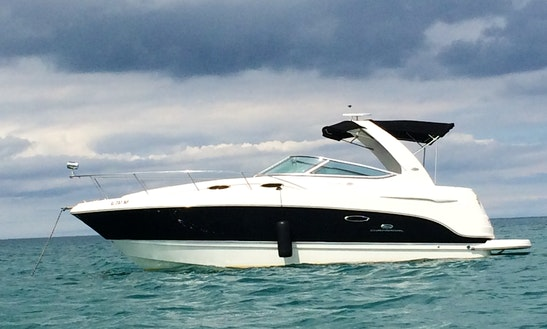 Charter The 31' Chaparral Signature Motor Yacht In Chicago, Illinois