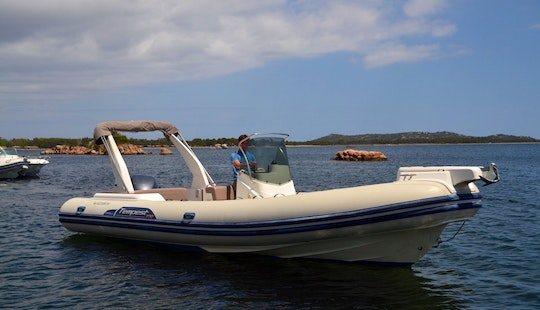High Quality Made Tempest 770 Rigid Inflatable Boat In Porto Vecchio, France