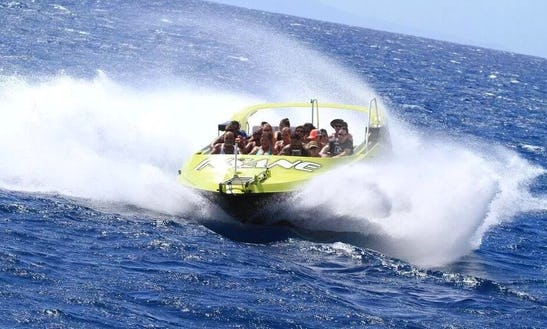 Private Custom Charters - Insane Jet Boat To Lanai
