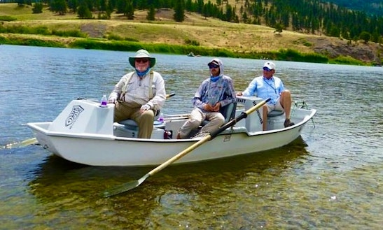 Guided Fly Fishing Trip On Missouri River, Montana With Captain Jeff