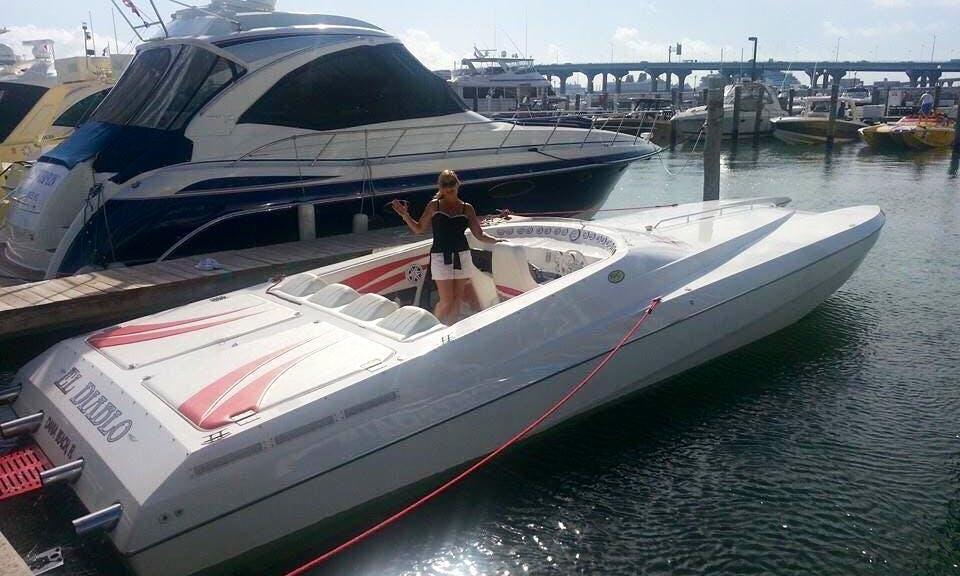 Speedboat for Rent in Miami Beach