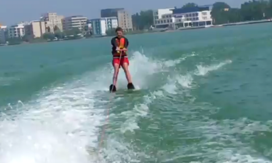 Enjoy Water Skiing In Constanța, Romania