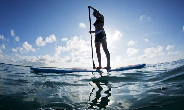Stand Up Paddleboarding in Ericeira, Lisboa