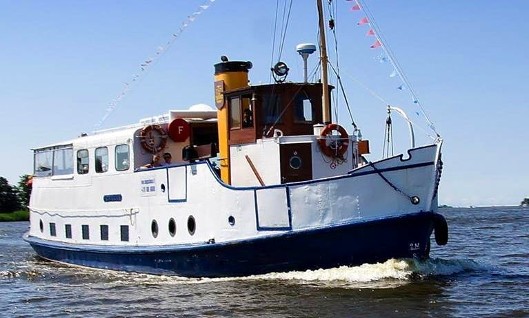 Perfect Boat for Corporate Events & Large Groups in Klaipėda, Lithuania