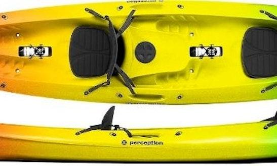 Double Sit On Top Kayak Rental In Split