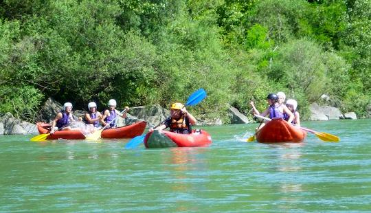 Tandem Kayak Rental In Ilanz, Graubünden