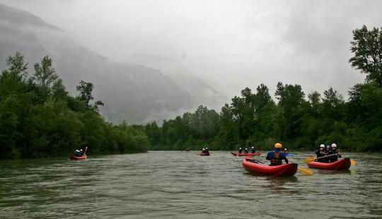 Canoe Rental In Ilanz, Switzerland