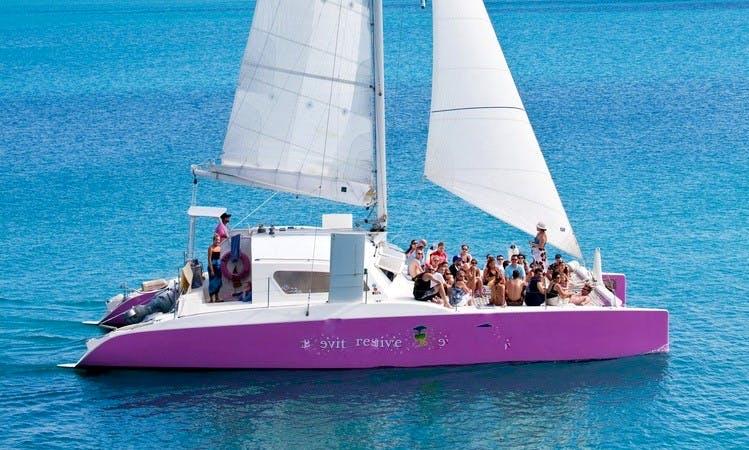 48ft Day Charter Cruising Catamaran Boat Charter in Sandys, Bermuda