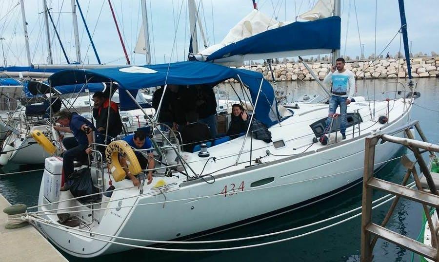 Charter a Cruising Monohull in Ashkelon, Israel