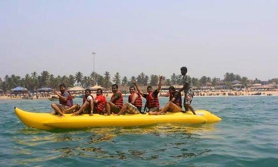 Enjoy Banana Ride In Vijayawada, Andhra Pradesh