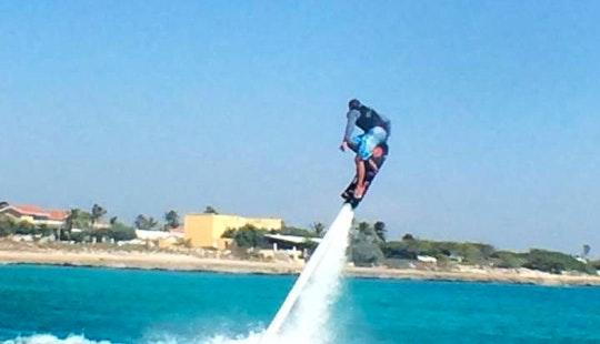 Enjoy Flyboarding In Noord, Aruba