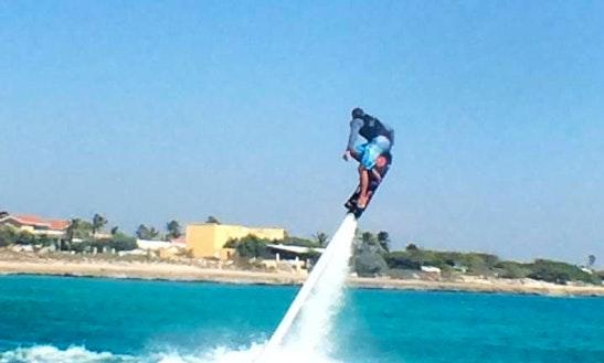 Enjoy Flyboarding In Noord, Aruba
