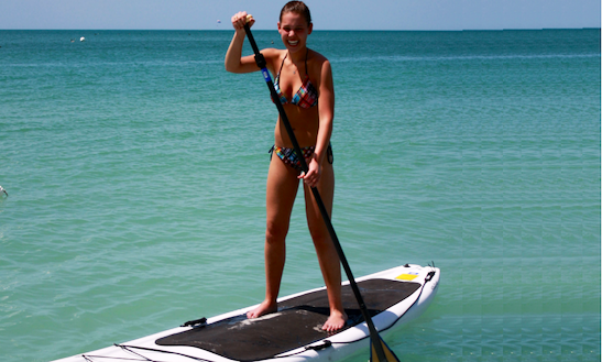 Enjoy Stand Up Paddleboard Rentals In Noord, Aruba