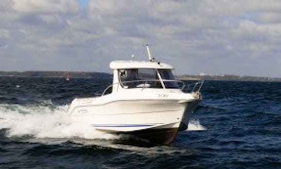 Enjoy Fishing In Finnmark, Norway On 20' Quicksilver 620 Pilothouse Cuddy Cabin