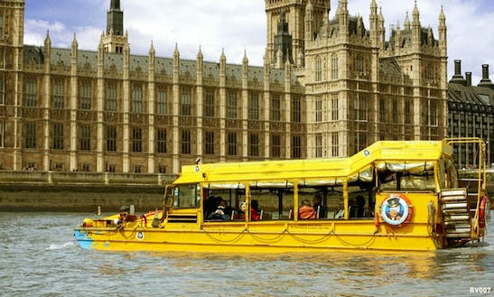 Enjoy London, United Kingdom On Dukw Passenger Boat