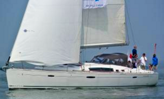Rent 50' Beneteau Cruising Monohull In Goes, Zeeland