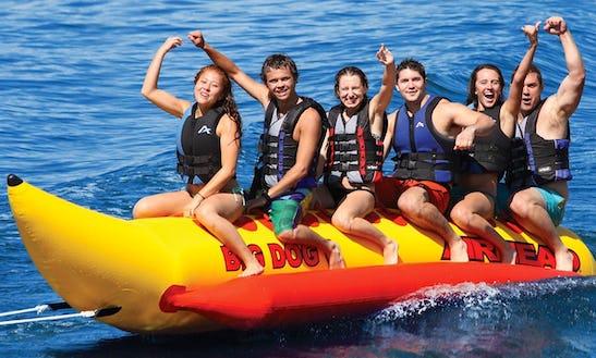 Enjoy Banana Boat Rides In Leucate, France