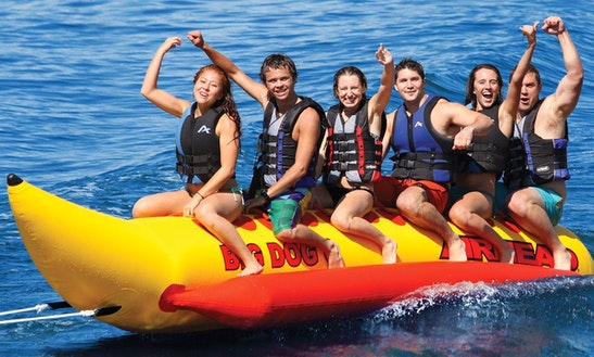 Enjoy Banana Boat Rides In Leucate, France