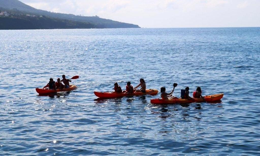 Enjoy Triple Kayak Rentals In Acores Portugal