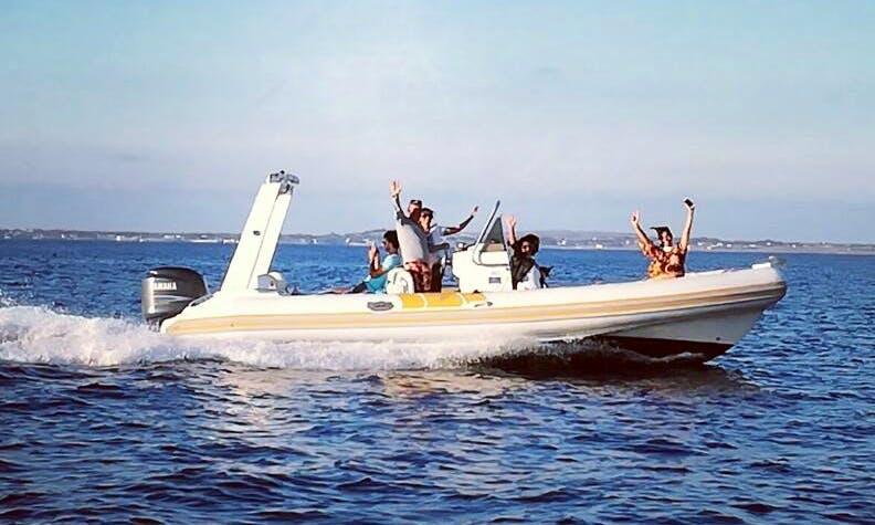 Charter a Rigid Inflatable Boat in Marsala, Sicilia