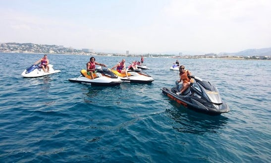 Ride The Wake On A Jet Ski In Marseille, France