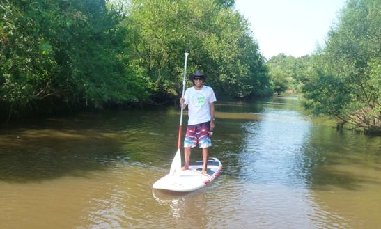 Enjoy Stand Up Paddleboard In Ondres, France