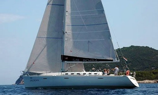 Charter 48' Beneteau First Sailing Yacht In Rossaveal Harbour, Ireland