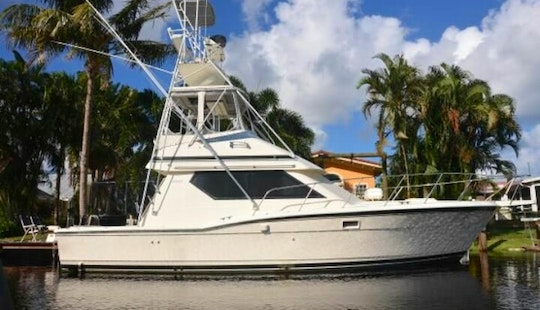 39' Hatteras Fishing Charter In Costa Rica