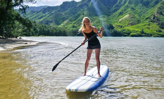 Stand Up Paddleboard Tour And Rental In Laie, Hawaii