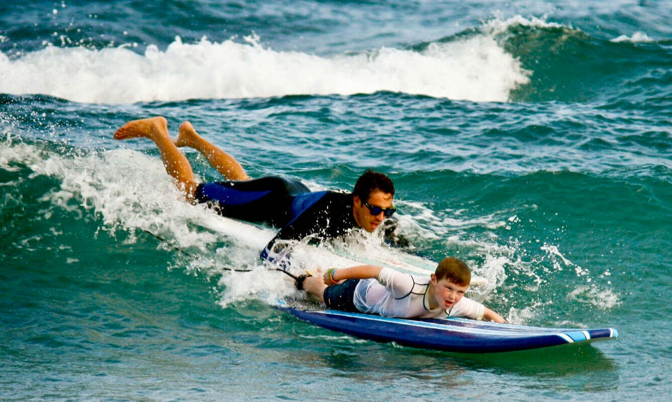 Surf Lessons in Laie, Hawaii