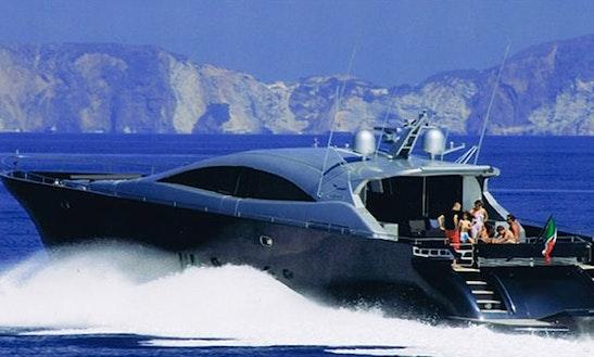 Charter 105' Italcraft 105 Maxi Drago Motor Yacht In Olbia, Italy