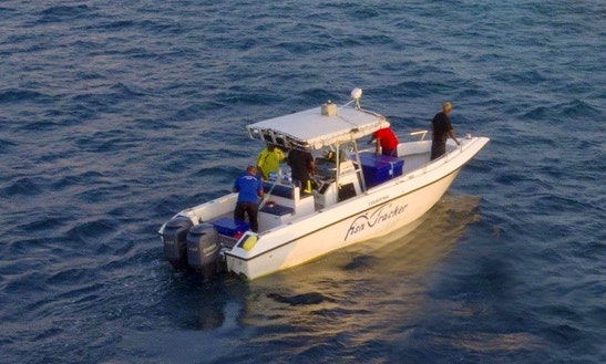Spend An Amazing Fishing Experienced With Center Console In  Male, Maldives For 4 People