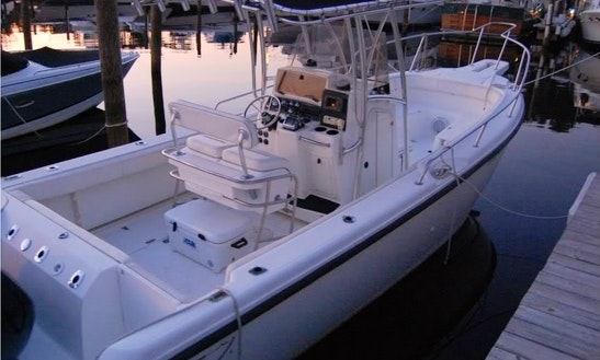 Rent A Boston Whaler Center Console In Amsterdam, Netherlands