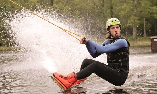Enjoy Wakeboarding In Aquitaine, France.