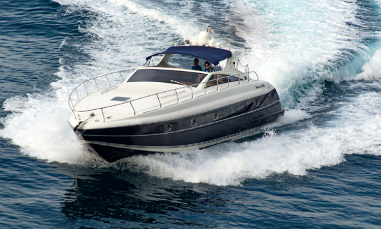 Charter 48' Alfamarine 50 Motor Yacht In Costa Smeralda, Italy
