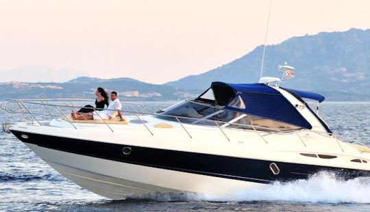 Charter 39' Cranchi 41 Motor Yacht In Porto Rotondo, Italy