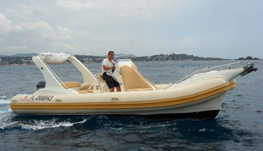 Rent 23' Pacific Craft Rigid Inflatable Boat In Draguignan, France