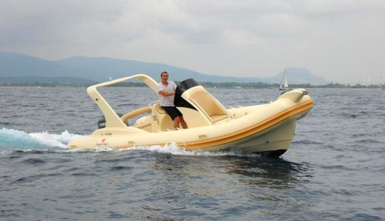 Rent 22' Pacific Craft Rigid Inflatable Boat In Draguignan, France