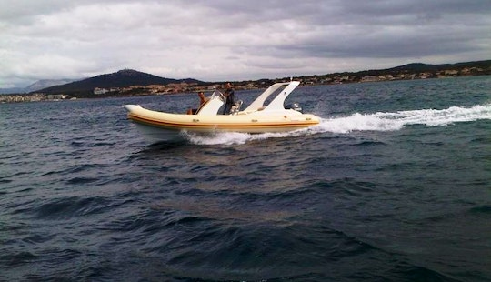Rent 21' Pacific Craft Rigid Inflatable Boat In Draguignan, France
