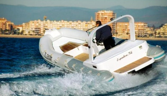 Rent 21' Espandon Rigid Inflatable Boat In Draguignan, France